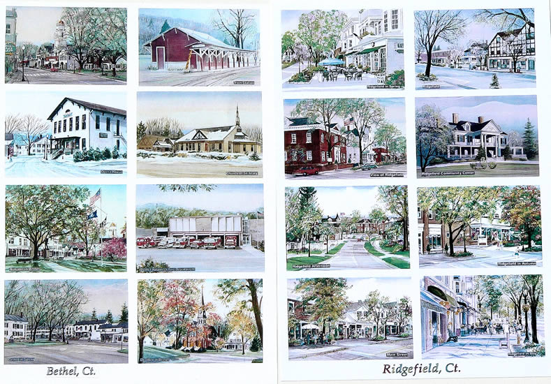 Work samples on this page: Bethel, Ridgefield, CT