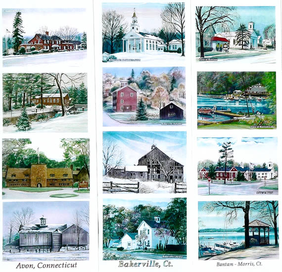 Work samples on this page: Avon, Bakerville, Bantam - Morris, CT
