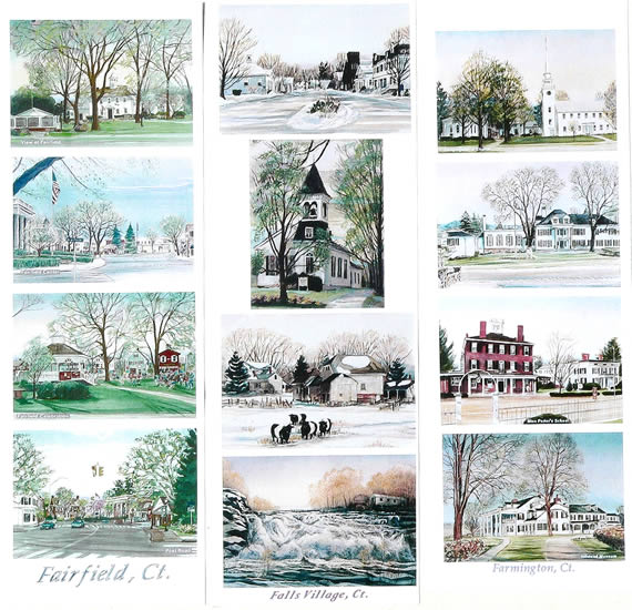 Work samples on this page: Fairfield, Falls Village, Farmington, CT
