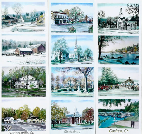 Work samples on this page: Gaylordsville, Glastonbury, Goshen, CT