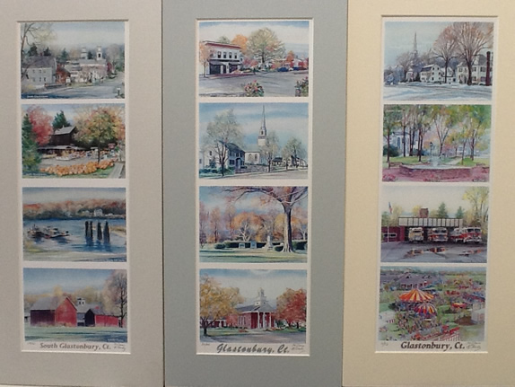Work samples: Glastonbury and South Glastonbury, CT