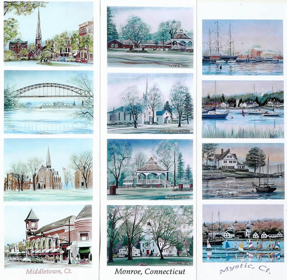 Work samples on this page: Middletown, Monroe, Mystic, CT