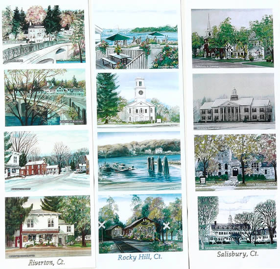 Work samples on this page: Riverton, Rocky Hill, Salisbury, CT