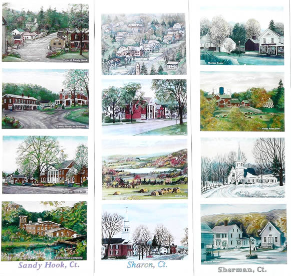 Work samples on this page: Sandy Hook , Sharon, Sherman, CT