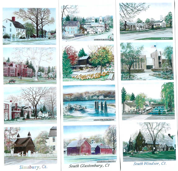 Work samples: Simsbury, South Glastonbury, South Windsor, CT