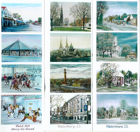 Work samples on this page: Watch Hill Merry-Go-Round , Waterbury, Watertown, CT
