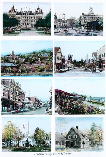 Work samples on this page: Hudson Valley Cities and Towns, NY